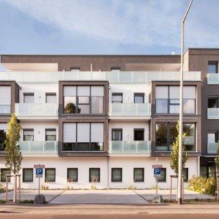 neubau verwaltungsgeb ude bauverein in schweinfurt. Black Bedroom Furniture Sets. Home Design Ideas